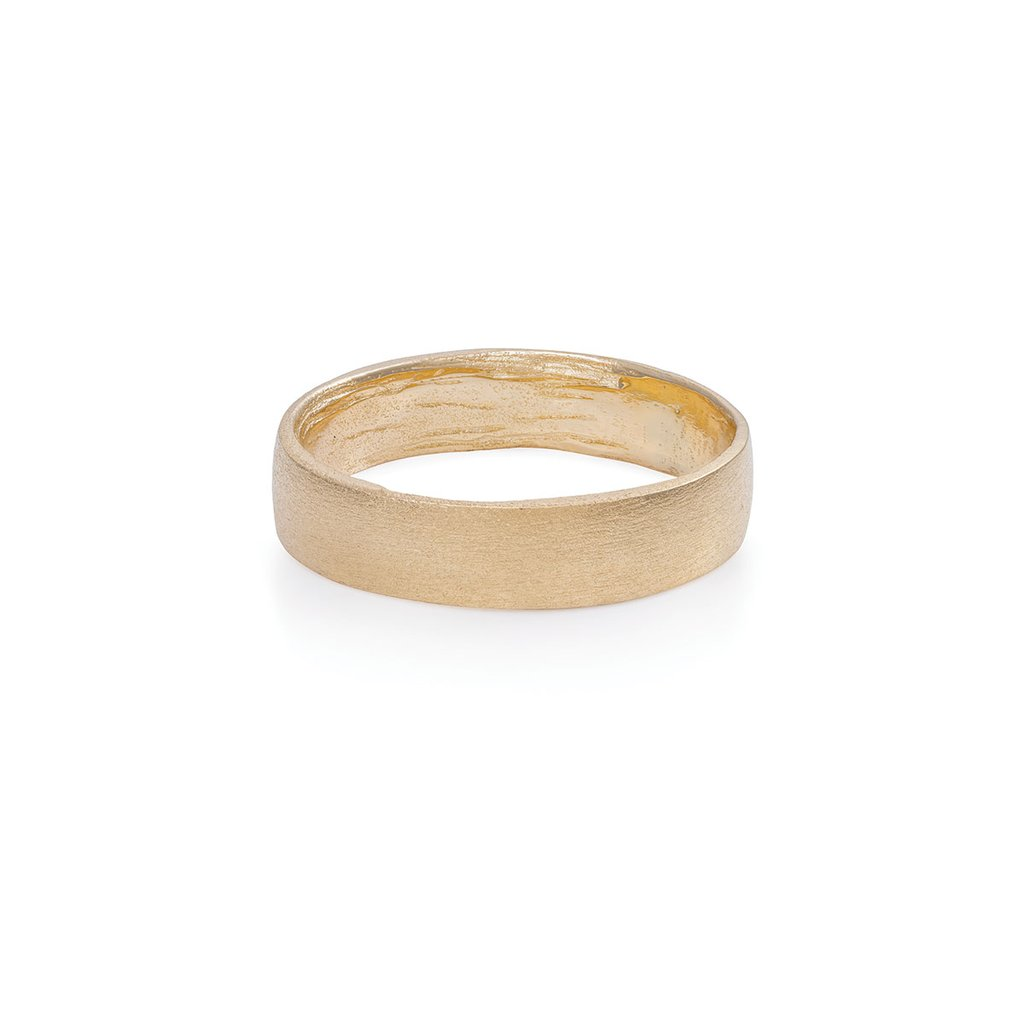 Chupi-Hawthorn-Bark-Polished-Wedding-Band